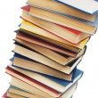 Stack of books isolated on the white — Stockfoto #2603748