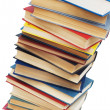Stack of books isolated on the white - Stock fotografie