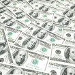 Background with many american dollars — Stock Photo #2604062