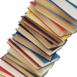 Stack of books isolated on the white — Stock Photo #2604328