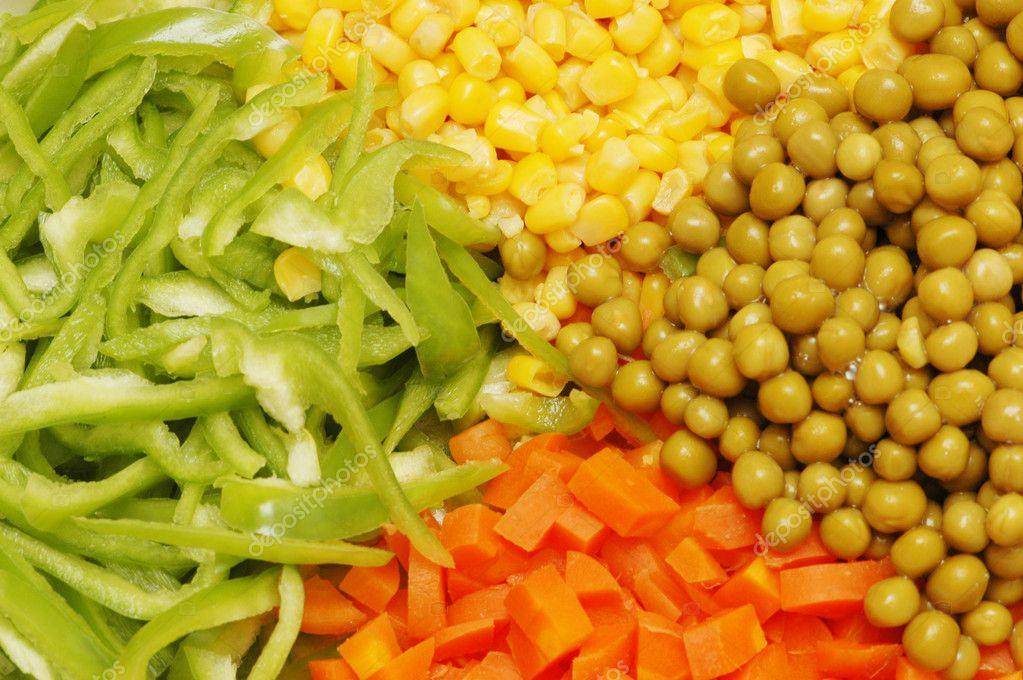 Салат из сладкого перца кукурузы