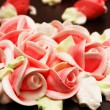 Stock Photo: Close up of rose decoration