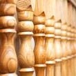 Row of columns with — Stock Photo #2633206