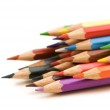 Various colour pencils isolated — Stock Photo #2633584