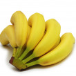 Bunch of bananas isolated — Stock Photo