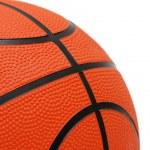 Orange basketball isolated — Stock Photo