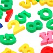 Various letters and digits — Stock Photo #2652875