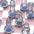 Various chess figures - Stock Photo