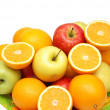 Royalty-Free Stock Photo: Apples and oranges in the tray