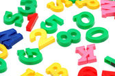 Various letters and digits — Stock Photo