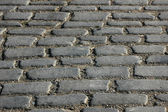 Cobbles on the street — Stock Photo