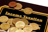 "Book of ""Income Taxation"" — Stock Photo"