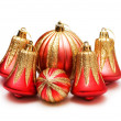 Christmas decoration isolated — 图库照片