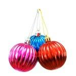 Christmas balls of various colours — Stock Photo