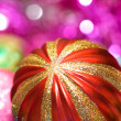 Colourful christmas decoration — Stock Photo