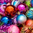 Colourful christmas decoration - Stockfoto
