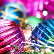 Colourful christmas decoration — Stok fotoğraf