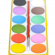 Stock Photo: Painters palette isolated on the white