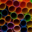 Lots of drinking straws - Stock Photo