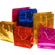 Colorful bags isolated on the white — Stock Photo #2683388