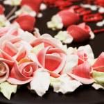 Close up of rose decoration — Stock Photo