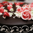 Close up of cake with decoration — Stock fotografie