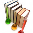 Books and tubes - Stock Photo