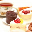 Various sweets — Stock Photo