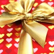 Stock Photo: Close up of the shiny gift box