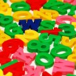 Various letters and digits — Stock Photo #2686523