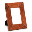 Picture frame isolated on the white — Stock Photo