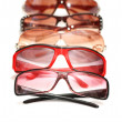 Stock Photo: Various sunglasses isolated