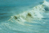 The twirled sea wave — Stock Photo