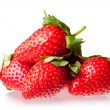 Berry of strawberry on white background. — Stock Photo