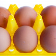 Dietary eggs — Stock Photo