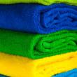 Colour terry towels combined by pile — Stock Photo #2061314