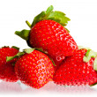 Berry of strawberry - Stock Photo