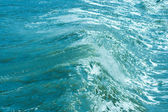 Twirled sea wave — Stock Photo