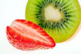 Kiwi e fragola. — Foto Stock