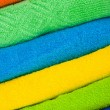 Colour terry towels combined by pile — Stock Photo #2365732