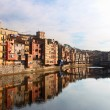 Quay Girona — Stock Photo