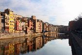 Quay Girona — Stock Photo