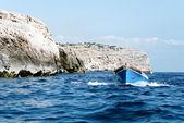 Turystyczne łódź — Zdjęcie stockowe