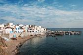 Sahil kasabası — Stok fotoğraf