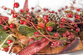 Christmas garland — Stock Photo