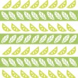 Lime&mint pattern — Stock Vector