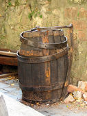 Old barrel — Stock Photo