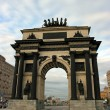 Triumphal arch in Moscow — Stock Photo #1209451