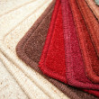 Samples of carpet — Stock Photo