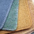 Samples of carpet — Stock Photo #1214396